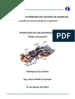 mapa conceptual tecnología de los materiales 1