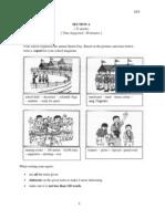 Peperiksaan Percubaan PMR Bahasa Inggeris Selangor  2013 Paper 2