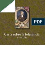 Carta sobre la tolerancia - John Locke