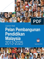 Pelan Pembangunan Pendidikan Malaysia 2013 2025 Bahasa Malaysia