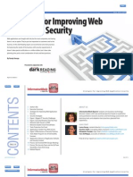 Strategies for Improving Web Application Security