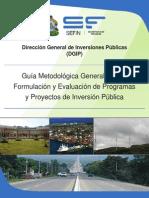 Guia Metodologica General