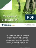 Versatility - Slide Show of the VERSATILE System by Ashoka
