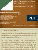 Exposicion Comunicacion y Expresion Escrita