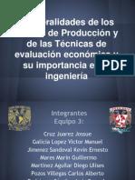 Generalidades de Los Costos de Produccion