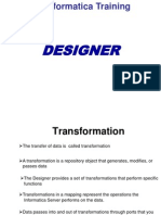 Informatica DESIGNER