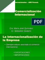 Unidad 2 - Internacionalización de la empresa