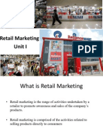 Retail Marketing_ Unit I