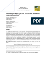 2006_Machado-Da-Silva, Guarido Filho, Rossoni_Organizational Fields and the Structuration Perspective Analytical Possibilities