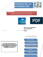 Sociedad ion Para Ecuador