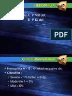 Hemophilia P3D