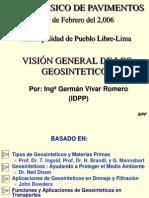Vision General de Los Geosinteticos