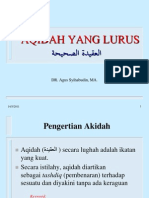 Aqidah Shahihah
