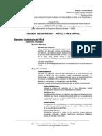 Estructura PRAE Virtual