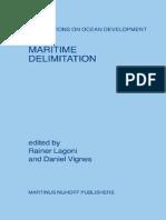 Rainer Lagoni, Daniel Vignes Maritime Delimitation Publications on Ocean Development, 53  2006.pdf