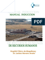Manual de inducción Hospital Clinico de Magallanes