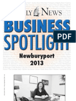 Newburyport Business Spotlight 2013