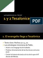 1 y 2 Tesalonicenses - Miraflores