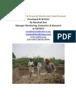 My Designed Financial & Monitoring Tools/Formats
