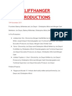 Info Regarding A Production Company