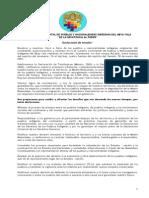 Declaración Iximche Abya Yala - Marzo 2007