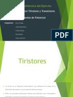 Exposición - Tiristores y Transistores de Potencia.pptx