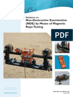 76594519 IMCA SEL023 Guidance on Non Destructive Examination NDE by Means of Magnetic Rope Testing