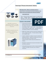 ERP for Process Instruments Manufacturing