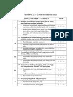 Lampiran 6 Instrumen Penilaian Kompetensi Kepribadian