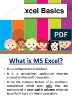 MS Excel -Grade 5