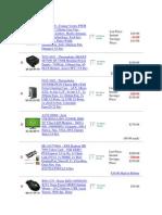 computer parts list 2