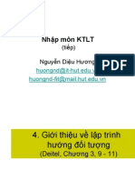 Student KTLT Chapter1 OOP No Case Study