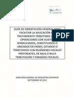 Guia Aplicacion Tributaria -El Salvador