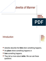 Adverbs of Manner 2