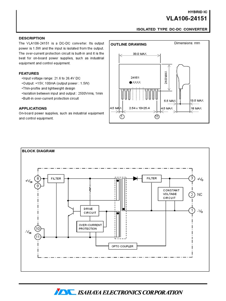 24151 Datasheet Power Supply Electronics Ad590 2 Terminal Ic Temperature Transducer Pin Configuration Schematic Diagram And
