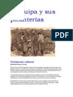 Arequipa Siglo XX y Sus Picanteias