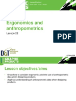 22 - Ergonomics and Anthropometrics