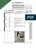 Registro de Excavaciones - Alcantarillado - Final