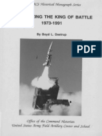 Modernizing the King of Battle 19731991