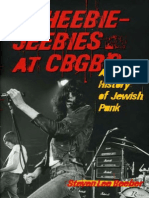 Heebie-Jeebies at CBGBs - A Secret History of Jewish Punk (2006)