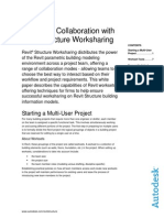 Multi-user Collaboration Revit Structure Worksharing