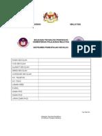 Borang Pemantauan Sekolah 2012