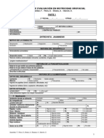 Protocolo de Evaluacion en Motricidad Orofacial 2012