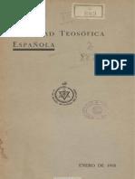 Boletín de la Sociedad Teosófica Española. 1-1935, n.º 69
