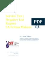Service Tax E Book (PDF Book) - CA Pritam Mahure