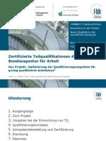 Zertifizierte Teilqualifikationen Der Bundesagentur Fuer Arbeit F-bb