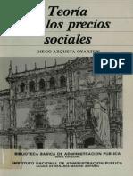TEORÍA DE LOS PRECIOS SOCIALES