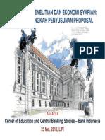 2010 05 LIPI Langkah Penyusunan Proposal