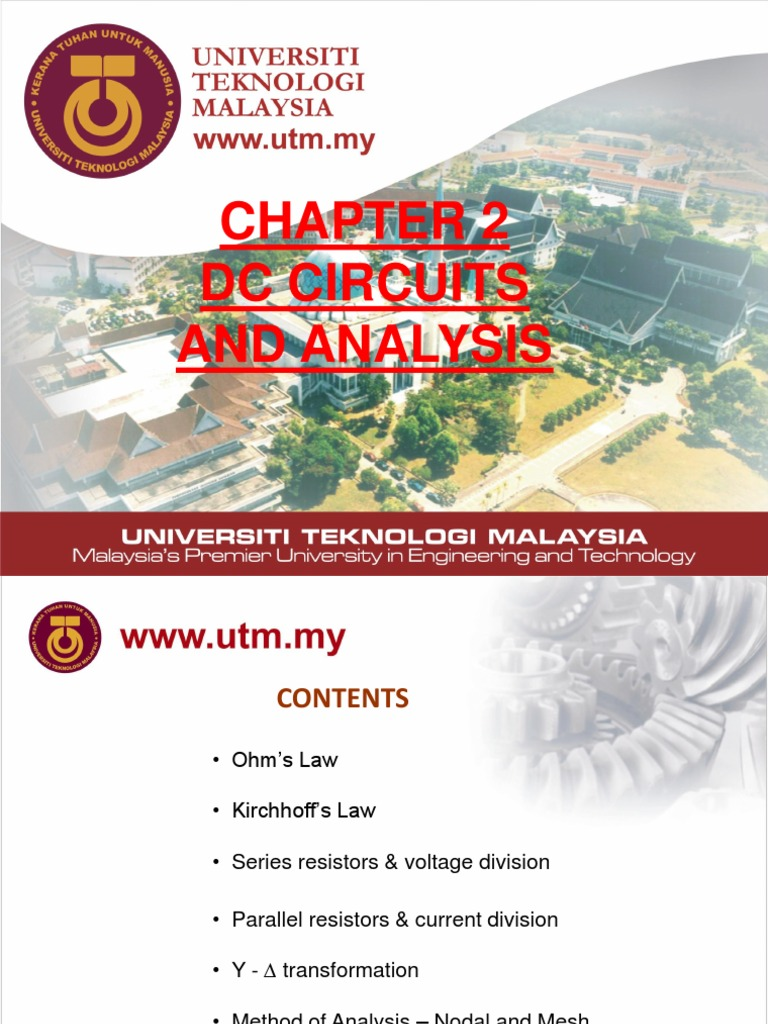 003 Chapter 2 1 Dc Circuit Analysis Series And Parallel Circuits Kirchhoff39s Voltage Law Kvl Divider Laws Electrical Network