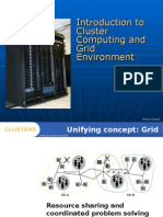 Introduction to Cluster Computing and Grid Environment